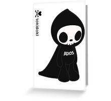 ADIOS - TOKIDOKI Greeting Card