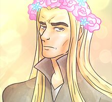 Flower Crown Thranduil by capricina