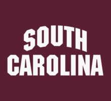 South Carolina Basketball Tee by Beau Franklin