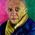 Picasso portrait by desarte