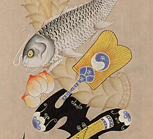 Oriental Painting  by Jieun Kim