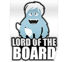 the lord of the boards Poster