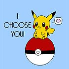 Pokemon Pikachu Valentine's Day Design! (Blue) by charsheee