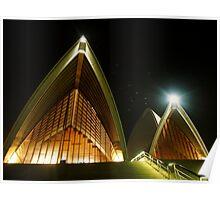 Night at the Opera, Sydney Poster