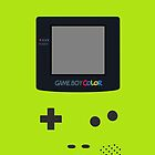 [Case] Gameboy Color - Kiwi Green by carnivean