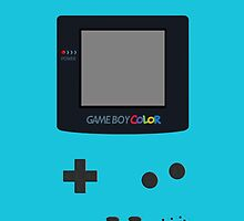 [Case] Gameboy Color - Teal Blue by carnivean