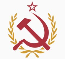 Soviet Hammer and Sickle Emblem Stickers by NeoFaction