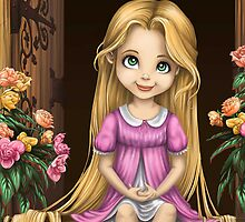 Little Miss Princess Rapunzel by Zelda1993