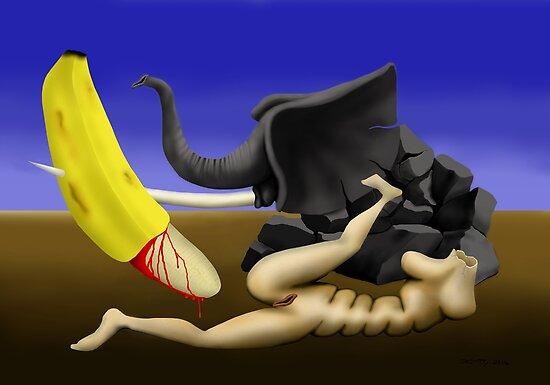 SURREALISM - Elephant Fantasy by surreal77