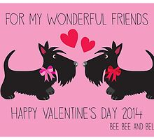 Valentine's Day – Bee Bee & Bella by BonniePortraits
