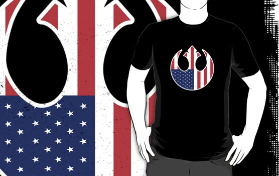 American Rebel by RocketmanTees