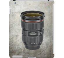Lens for photographer iPad Case/Skin