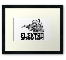 DayZ - Elektro Welcome Party Framed Print