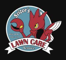 Scizor's Lawn Care Black Shirt by RRanger
