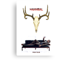 Hannibal S2 - The Countdown Canvas Print
