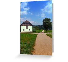 Peaceful countryside scenery   landscape photography Greeting Card
