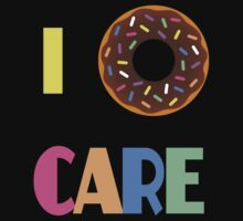 I Donut Care by FergalMcCabe
