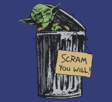 Yoda - Scram you Will! by barnsleynut