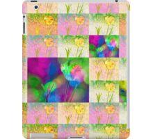 Happy Spring Tulips Flower Collage iPad Case/Skin