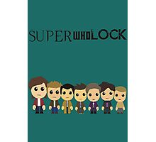SupercuteWhoLock Photographic Print