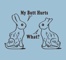 My Butt Hurts Rabbit by GeekLab