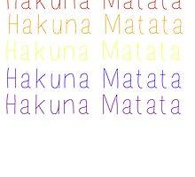 Hakuna Matata - Rainbow by Toovalu