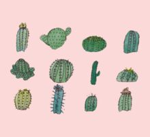 Comical Cacti Kids Clothes