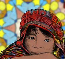 Aymara Child by Jorge H. Elias