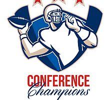 Gridiron Football Quarterback Conference Champions by patrimonio