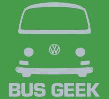 VW Camper Bus Geek Pale Blue Kids Clothes