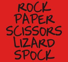 Rock Paper Scissors II Kids Clothes