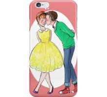 Retro Valentine iPhone Case/Skin