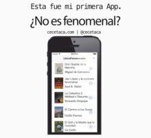LibrosFenomenales: Mi primera App by cecetaca