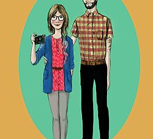Hipster Valentine by La  Mandragola