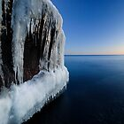 Into the Blue, Lake Superior by Michael Treloar