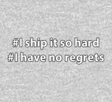 I ship it so hard - I have no regrets by 324B21