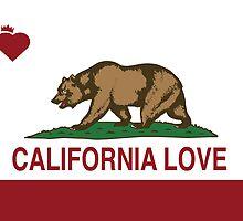 California Love Heart by NorCal