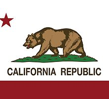 California Republic Flag by NorCal