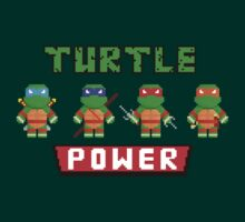 Turtle Power by PixelAvenger