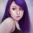 Purple Girl by André Luiz Barbosa