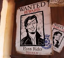Flynn Rider - Wanted Dead or Alive. by jennisney
