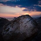 Sunset on the Adriatic Sea by MagicPaul
