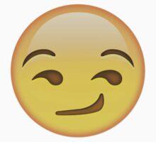 Smirking Emoji by katiemarine