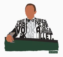 Daniel Craig in James Bond Casino Royale Typography Design by GrantP93