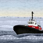 Tugboat by Janet Carlson