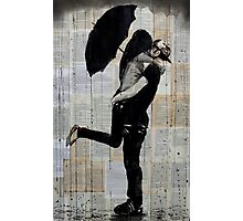 rainy day love Photographic Print