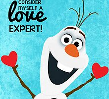 I Like To Consider Myself a Love Expert - Frozen by Michelle Jung