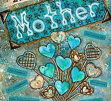 Thank You Mother by Lisa Frances Judd ~ QuirkyHappyArt