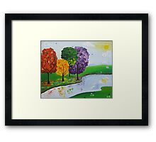 Where There Is Quiet Framed Print