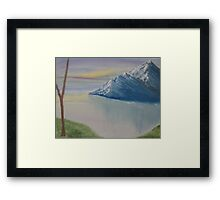 As Big As The Mountain Framed Print